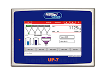 UP-7 weegindicator display aan 212x159