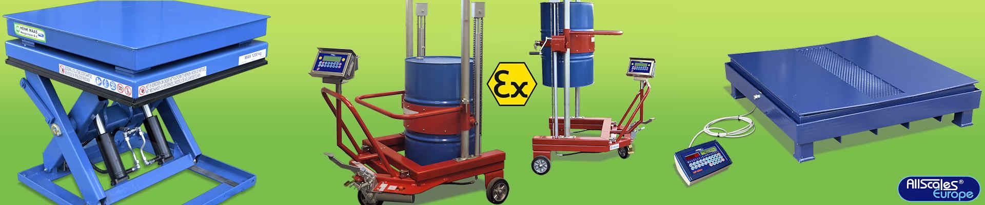 Homepage Slider Industriele Weegschalen